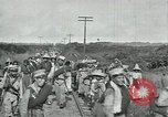 Image of Mexican Federal Army troops departing Mexico City along railroad Mexico City Mexico, 1914, second 45 stock footage video 65675029259