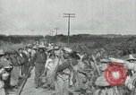 Image of Mexican Federal Army troops departing Mexico City along railroad Mexico City Mexico, 1914, second 47 stock footage video 65675029259