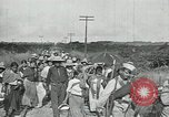 Image of Mexican Federal Army troops departing Mexico City along railroad Mexico City Mexico, 1914, second 48 stock footage video 65675029259