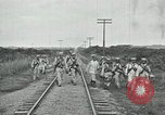 Image of Mexican Federal Army troops departing Mexico City along railroad Mexico City Mexico, 1914, second 49 stock footage video 65675029259