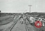 Image of Mexican Federal Army troops departing Mexico City along railroad Mexico City Mexico, 1914, second 50 stock footage video 65675029259