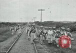 Image of Mexican Federal Army troops departing Mexico City along railroad Mexico City Mexico, 1914, second 51 stock footage video 65675029259