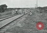 Image of Mexican Federal Army troops departing Mexico City along railroad Mexico City Mexico, 1914, second 60 stock footage video 65675029259