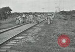 Image of Mexican Federal Army troops departing Mexico City along railroad Mexico City Mexico, 1914, second 61 stock footage video 65675029259