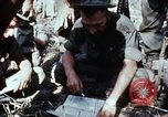 Image of jungle trail Vietnam, 1968, second 23 stock footage video 65675030468