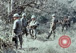 Image of jungle trail Vietnam, 1968, second 45 stock footage video 65675030468