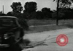 Image of damage to rubber tires due to rash driving Akron Ohio USA, 1941, second 15 stock footage video 65675030481
