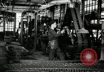 Image of half track tread assembly line Akron Ohio USA, 1941, second 14 stock footage video 65675030485