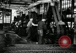 Image of half track tread assembly line Akron Ohio USA, 1941, second 32 stock footage video 65675030485