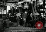 Image of half track tread assembly line Akron Ohio USA, 1941, second 34 stock footage video 65675030485