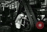 Image of half track tread assembly line Akron Ohio USA, 1941, second 38 stock footage video 65675030485