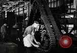 Image of half track tread assembly line Akron Ohio USA, 1941, second 49 stock footage video 65675030485