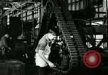 Image of half track tread assembly line Akron Ohio USA, 1941, second 62 stock footage video 65675030485