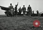 Image of General Allen hosts military officers from Latin America  Fort Sill Oklahoma USA, 1942, second 25 stock footage video 65675030492