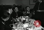 Image of Visiting Latin American officers at dinner in the U.S.A. United States USA, 1942, second 4 stock footage video 65675030494