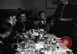 Image of Visiting Latin American officers at dinner in the U.S.A. United States USA, 1942, second 5 stock footage video 65675030494