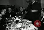 Image of Visiting Latin American officers at dinner in the U.S.A. United States USA, 1942, second 6 stock footage video 65675030494