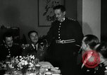 Image of Visiting Latin American officers at dinner in the U.S.A. United States USA, 1942, second 8 stock footage video 65675030494