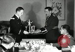Image of Visiting Latin American officers at dinner in the U.S.A. United States USA, 1942, second 20 stock footage video 65675030494