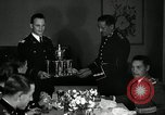 Image of Visiting Latin American officers at dinner in the U.S.A. United States USA, 1942, second 22 stock footage video 65675030494