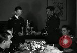 Image of Visiting Latin American officers at dinner in the U.S.A. United States USA, 1942, second 23 stock footage video 65675030494