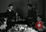 Image of Visiting Latin American officers at dinner in the U.S.A. United States USA, 1942, second 24 stock footage video 65675030494