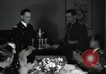 Image of Visiting Latin American officers at dinner in the U.S.A. United States USA, 1942, second 25 stock footage video 65675030494