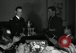 Image of Visiting Latin American officers at dinner in the U.S.A. United States USA, 1942, second 26 stock footage video 65675030494