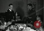 Image of Visiting Latin American officers at dinner in the U.S.A. United States USA, 1942, second 27 stock footage video 65675030494