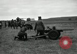 Image of Visiting Latin American participate in firing of 37mm guns Fort Riley Kansas USA, 1942, second 4 stock footage video 65675030495