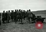Image of Visiting Latin American participate in firing of 37mm guns Fort Riley Kansas USA, 1942, second 34 stock footage video 65675030495