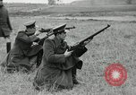 Image of Visiting Latin American military officers firing Garand rifles Fort Riley Kansas USA, 1942, second 20 stock footage video 65675030497
