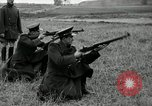 Image of Visiting Latin American military officers firing Garand rifles Fort Riley Kansas USA, 1942, second 21 stock footage video 65675030497