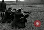 Image of Visiting Latin American military officers firing Garand rifles Fort Riley Kansas USA, 1942, second 22 stock footage video 65675030497