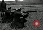 Image of Visiting Latin American military officers firing Garand rifles Fort Riley Kansas USA, 1942, second 26 stock footage video 65675030497
