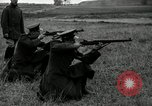 Image of Visiting Latin American military officers firing Garand rifles Fort Riley Kansas USA, 1942, second 27 stock footage video 65675030497