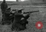 Image of Visiting Latin American military officers firing Garand rifles Fort Riley Kansas USA, 1942, second 31 stock footage video 65675030497