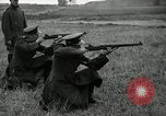 Image of Visiting Latin American military officers firing Garand rifles Fort Riley Kansas USA, 1942, second 34 stock footage video 65675030497