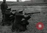 Image of Visiting Latin American military officers firing Garand rifles Fort Riley Kansas USA, 1942, second 35 stock footage video 65675030497