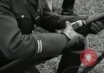 Image of Visiting Latin American military officers firing Garand rifles Fort Riley Kansas USA, 1942, second 46 stock footage video 65675030497
