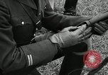 Image of Visiting Latin American military officers firing Garand rifles Fort Riley Kansas USA, 1942, second 50 stock footage video 65675030497
