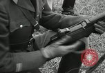 Image of Visiting Latin American military officers firing Garand rifles Fort Riley Kansas USA, 1942, second 53 stock footage video 65675030497