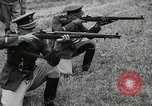 Image of Visiting Latin American military officers firing Garand rifles Fort Riley Kansas USA, 1942, second 55 stock footage video 65675030497