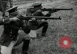 Image of Visiting Latin American military officers firing Garand rifles Fort Riley Kansas USA, 1942, second 56 stock footage video 65675030497