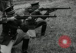 Image of Visiting Latin American military officers firing Garand rifles Fort Riley Kansas USA, 1942, second 57 stock footage video 65675030497