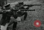 Image of Visiting Latin American military officers firing Garand rifles Fort Riley Kansas USA, 1942, second 58 stock footage video 65675030497
