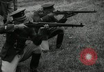 Image of Visiting Latin American military officers firing Garand rifles Fort Riley Kansas USA, 1942, second 59 stock footage video 65675030497