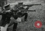 Image of Visiting Latin American military officers firing Garand rifles Fort Riley Kansas USA, 1942, second 60 stock footage video 65675030497