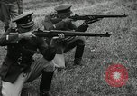 Image of Visiting Latin American military officers firing Garand rifles Fort Riley Kansas USA, 1942, second 61 stock footage video 65675030497