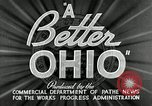 Image of WPA developments after Great Depression Ohio United States USA, 1937, second 9 stock footage video 65675030500
